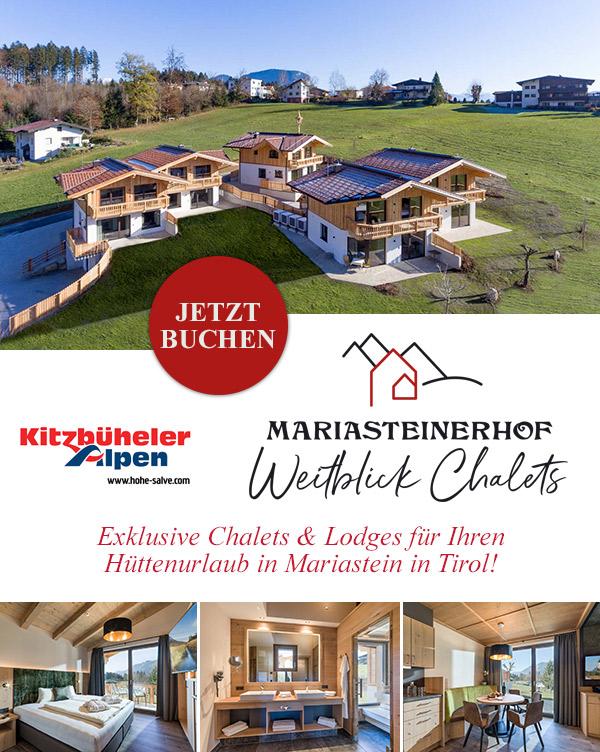 Weitblick Chalets - Hüttenurlaub in Mariastein in Tirol